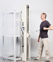 Intelligent upper extremity evaluation and training system